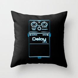 Double Delay – DM-2 Throw Pillow