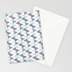 Tri Colour Two Stationery Cards