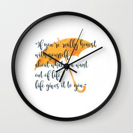 Honest Wall Clock