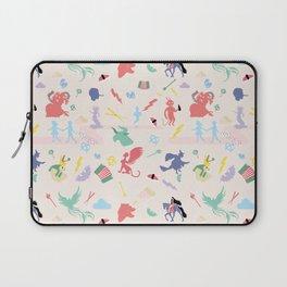 Mythological pattern Laptop Sleeve