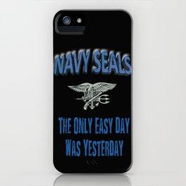 Navy Seals iPhone Case