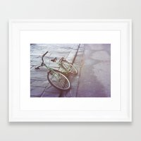 italy Framed Art Prints featuring Italy by chocowithmilk