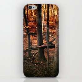 Sky Fire - surreal landscape photography iPhone Skin