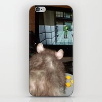 gaming iPhone & iPod Skins featuring gaming rat by Mindgoop