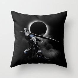 The Abyss Knight Throw Pillow