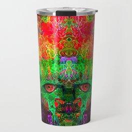 The Flower King Travel Mug