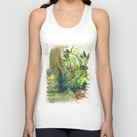 jungle Tank Tops featuring Jungle by Meredith Nolan