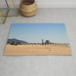 Power Station Beach Rug