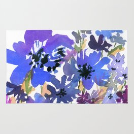 Heavenly Blues and Purples Rug