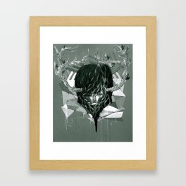 Antlers  Framed Art Print