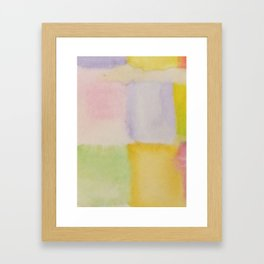 Colour Pattern  Framed Art Print