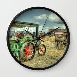 Traction Thresh Wall Clock