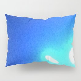 Abstracte Light Art in the Dark Version 40 Pillow Sham