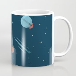 SPACE poster Coffee Mug