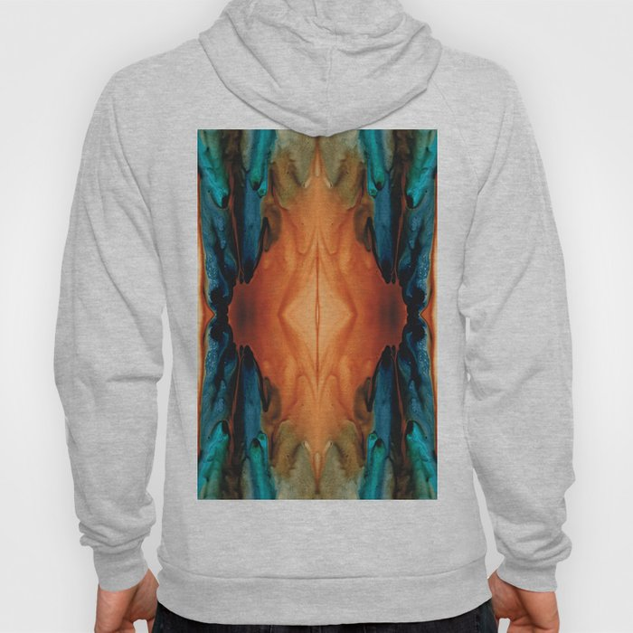 The Great Spirit - Abstract Art By Sharon Cummings Hoody