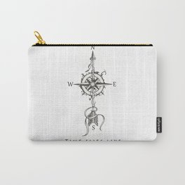 Time flies like an arrow (tattoo style) Carry-All Pouch