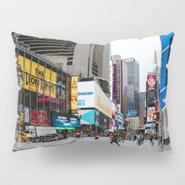 Times Square in New York Pillow Sham