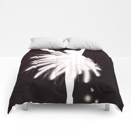 Space Ballerina (2 of 3) Comforters