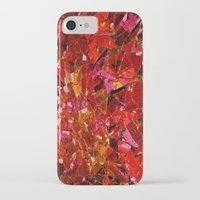 mosaic iPhone & iPod Cases featuring mosaic by Kras Arts - Fly Me To The Moon