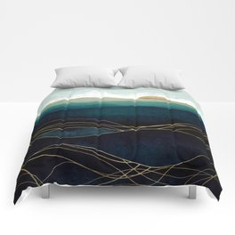 Indigo Waters Comforters