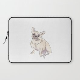 Cafe Dogs: Binkie the Frenchie Laptop Sleeve