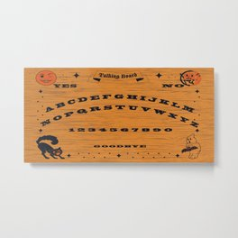 Vintage Talking Board Metal Print