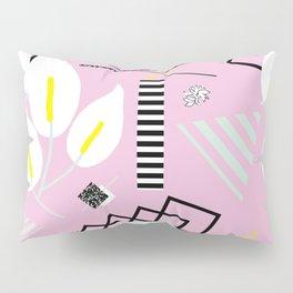 80's Calla Lily Floral Pillow Sham