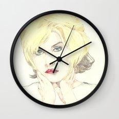 Debbie Harry Wall Clock