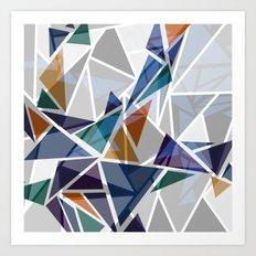 Cracked II Art Print