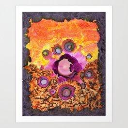Cornea's Burst Art Print