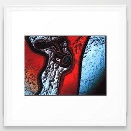 Taken Aback in Passing Framed Art Print