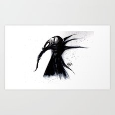 MORPHOUS Art Print