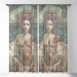 Dollhouse Sheer Curtain