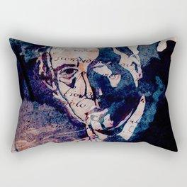 Sherlock Holmes in Latin Rectangular Pillow
