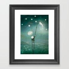 I will bring a star Framed Art Print
