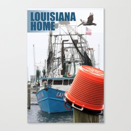 Louisiana Home Canvas Print