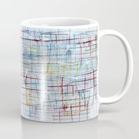 50s Mugs featuring 50s inspired by Pagan Sovereign Studios