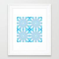 frozen Framed Art Prints featuring Frozen  by 2sweet4words Designs