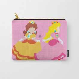 Princess Peach & Princess Daisy (Toadstool Theme) Carry-All Pouch