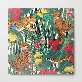 tropical wild  Metal Print