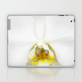 In Black And White Orchid Laptop & iPad Skin