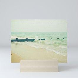 Sea Groyne Mini Art Print