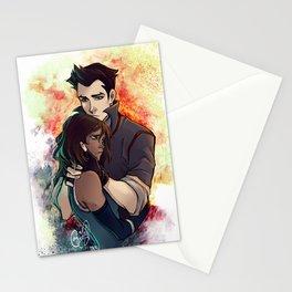 Korra-Mako Stationery Cards