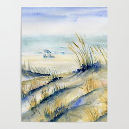 Ocean City Beach Maryland Poster
