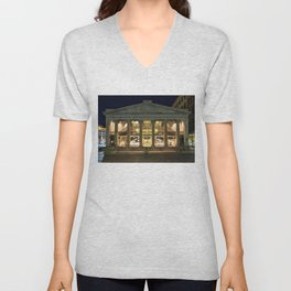 Circa 1828 Providence Arcade - Oldest Mall in America - Providence, Rhode Island Unisex V-Neck