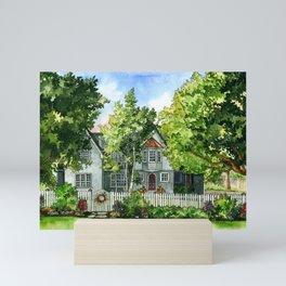 The Red Door Mini Art Print