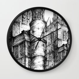 Collegiate Church of St Gertrude, Nivelles Wall Clock