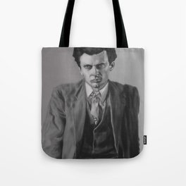 Painting of Aldous Huxley Tote Bag