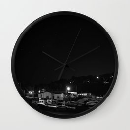 Nightbeach Wall Clock