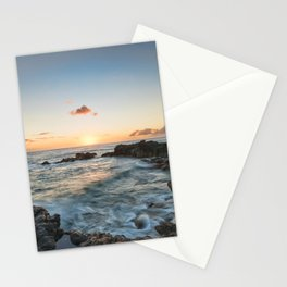 Sunset Kaena Point, Hawaii Stationery Cards